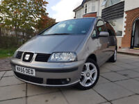 2005 SEAT ALHAMBRA 1.9 PD TDI 130 BHP STYLANCE FULLY LOADED MANUAL