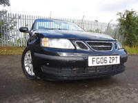 06 SAAB 9-3 LINEAR 150BHP 2.0 CONVERTIBLE,MOT JUNE 018,2 OWNERS,2 KEYS,PART HISTORY,STUNNING EXAMPLE