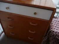 chest of drawers, four drawers