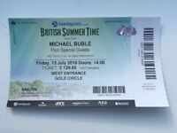 2 x Michael Buble tickets at Hyde Park (British Summer Time)