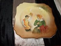 "Royal Doulton plate 8"" x 8"" collectors piece stamped 4.38 Royal Doulton"