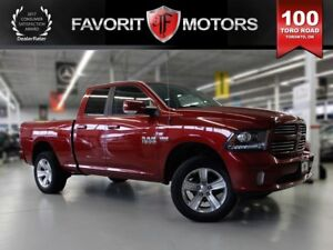 2014 Dodge Ram 1500 Sport, 4WD, Leather, Bluetooth, USB/AUX Inpu