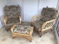 Daro Cane Furniture 4 Piece