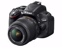 Nikon D5100 Digital SLR Camera Bundle!