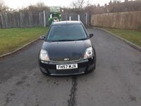 FORD FIESTA 1.2 ZETEC CLIMATE 5DR (57 REG)- ONLY 65000 LOW MILEAGE