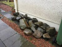 Large decorative stones (boulders) perfect for rockery and garden decoration