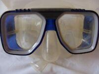 Typhoon scuba diving mask & snorkel