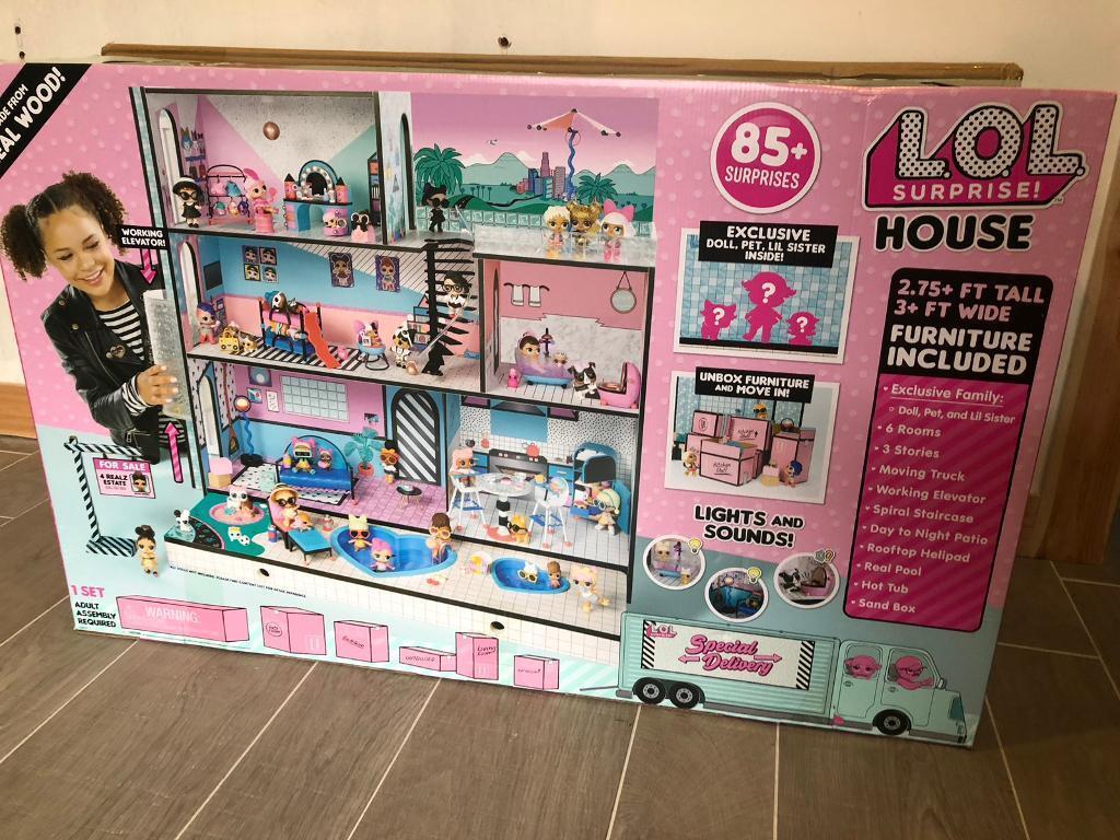 Lol Big Surprise Dolls House In Croftfoot Glasgow Gumtree