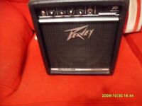 PEAVEY MICROBASS 50 WATT BASS GUITAR AMPLIFIER