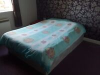 1 Year Used Double Bed