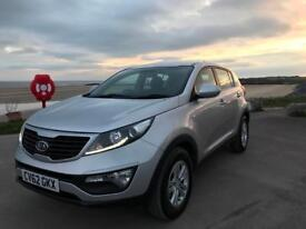 KIA SPORTAGE CRDI 1.7 DIESEL 62 plate 65k miles immaculate condition **18 month warranty remaining**