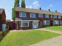 3 BEDROOM END TERRACE HOUSE/BOARDED & CARPETED LOFT/ADDITIONAL ROOM