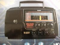 STEEPLETONE HIGH POWER OUTPUT MULTI BAND RADIO RECEIVER (New & Boxed)
