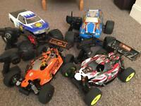 Selling my collection nitro rc Car ready to run