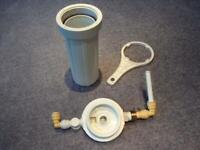 Whole House Water Filter System With Brand New Coconut Carbon Filter Cartridge