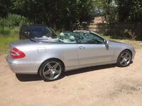 Mercedes Benz Cabriolet stunning, low mileage, service, new brakes