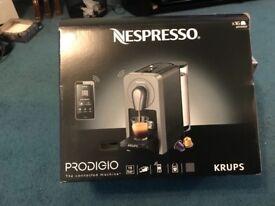 Krups Nespresso Prodigio coffee machine