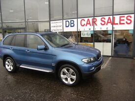 2005 05 BMW X5 3.0 D SPORT 5D AUTO 215 BHP***GUARANTEED FINANCE***PART EX WERLCOME***
