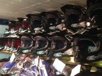 HELMETS, GOGGLES, GLOVES AND CLOTHING