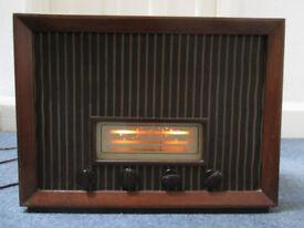 Mid 20th Century Ambassador Radio ~ in working order.
