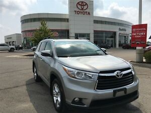 2016 Toyota Highlander Limited - Toyota Certified, Local Vehicle