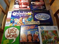Selection of well-known Board games