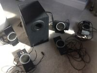 Creative Inspire T6100 5.1 pc surround sound speakers set