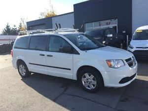 2011 Dodge Grand Caravan Cargo with shelving and ladder rack