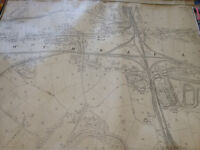 4 Antique Maps Edinburgh Area 1912 and 1907