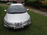 2008 Honda Civic 2.2 i-CTDi SE Hatchback 5dr [AC+ALLOYS+FSH+FREE WARRANTY]