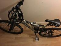 Dunlop sports dual suspension mountain bike