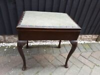 Piano Stool - Dressing Table Stool with storage