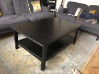 Ikea Hemnes Coffee Table In Black