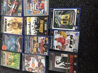 11 playstation 2 games £7