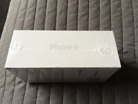 iPhone 6 silver/white 16gb new unopened