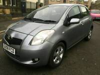 Toyota yaris 1.3 litre petrol Automatic very Low Genuine mileage Clean bodywork Bargain price
