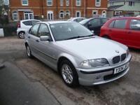 BMW 3 SERIES 318i SE 4dr (silver) 2001