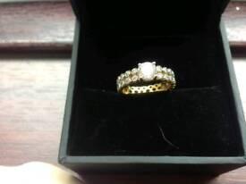 Unique ring size p