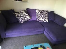 Lovely L shape sofa for sale