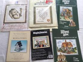 Cross stitch charts only , used.