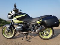 Bmw R1150 R Rockster 2004 ( GS) with panniers & Remus exhaust