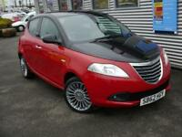 CHRYSLER YPSILON 1.2 BLACK AND RED 5d **LOW MILES** (red) 2012