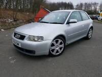 Audi S3 Quattro, 2001 51, Top spec, Full Heated Leather, Stunning inside and out, MOT March 2019