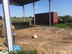 7.5 tonne leyland DAF horse box