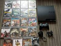 PlayStation 3 with 19 game