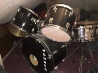 Hohner lex drum kit - black