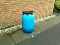 Water butt for garden water storage/rainwater.