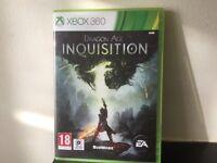Xbox 360 game Dragon age inquisition.