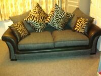 A brand new 2 seater sofa