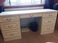 7 Drawer Schrieber dressing table.